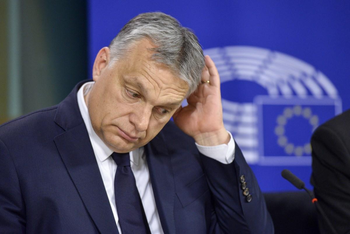 Viktor Orbán after the EPP conference